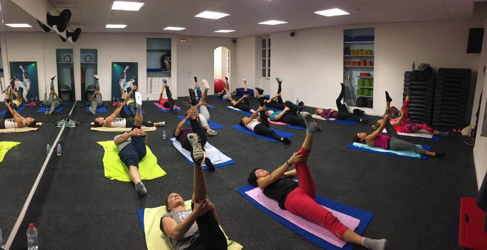Cours collectif Pilates